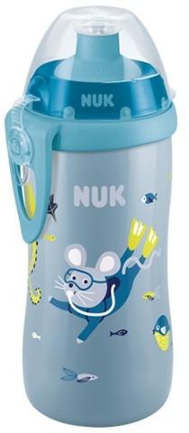 NUK Lahvička Junior Cup 300 ml Moře - modrá