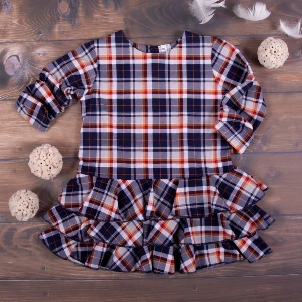 K-Baby Dětské šatičky Kárko - granát, vel. 98
