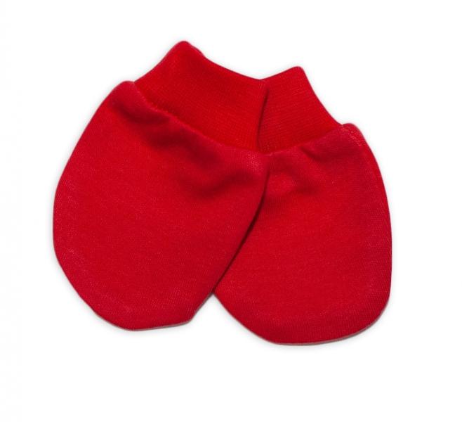 Mamatti Kojenecké rukavičky - červené