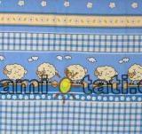 Krásný volánek pod matraci - Ovečka modrá