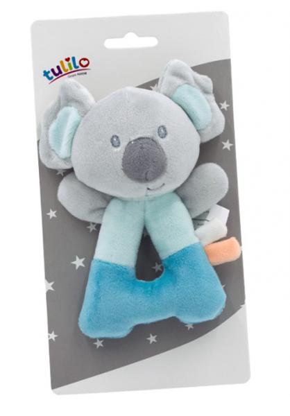 Tulilo Plyšové chrastítko Koala - mátová