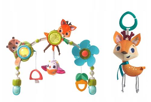 Tiny Love Oblouk s hračkami Lesní zvířátka, Forest