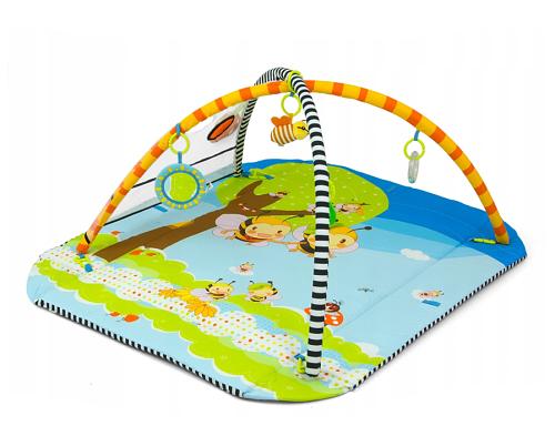 Milly Mally Dětská hrací deka 5v1 Lolly - Včelky