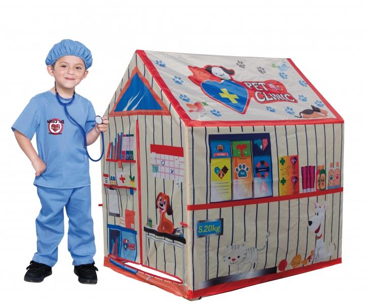 iPLAY Dětský stan - Veterinář