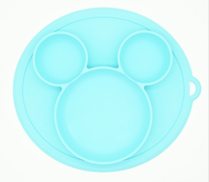 Baby in World Silikonová miska - modrá