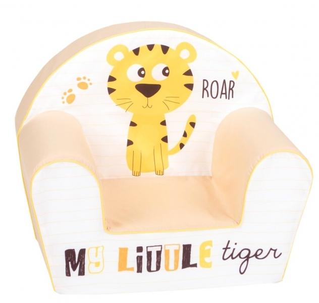Delsit Dětské křesílko, pohovka - Little Tiger