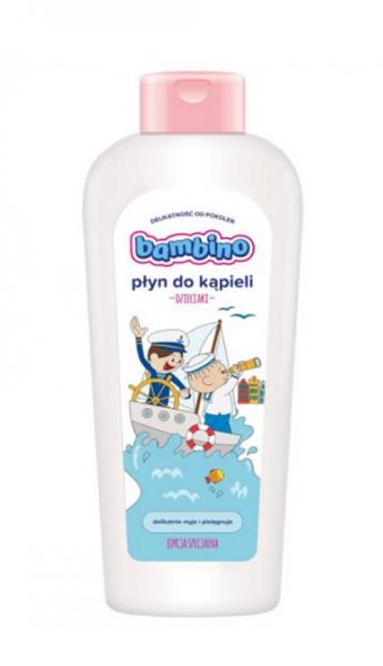 NIVEA Dětská jemná koupel Bambino Bolek a Lolek, 400ml - speciální edice