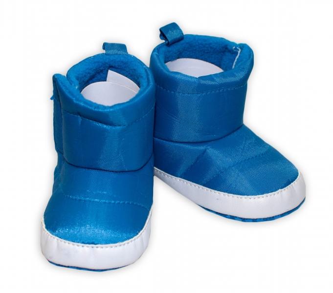 YO ! Zimní nepromokavé botičky/capáčky Kosmonaut YO! - modré, 0-6m