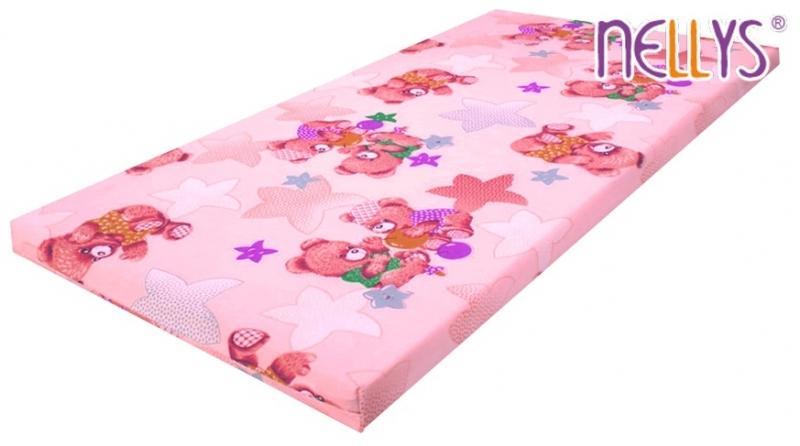 Pěnová (molitanová) matrace 120x60cm - dívčí barvy,různé motivy