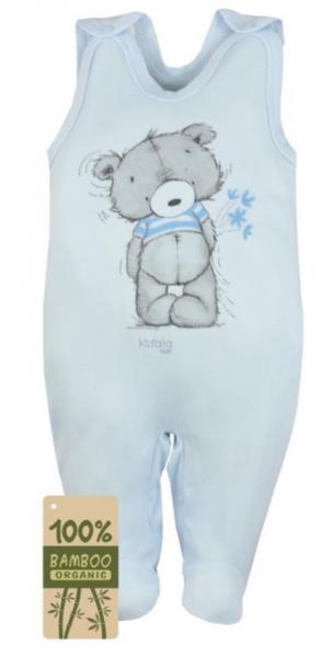 Koala Baby Kojenecké dupačky bambus Tommy - modrá