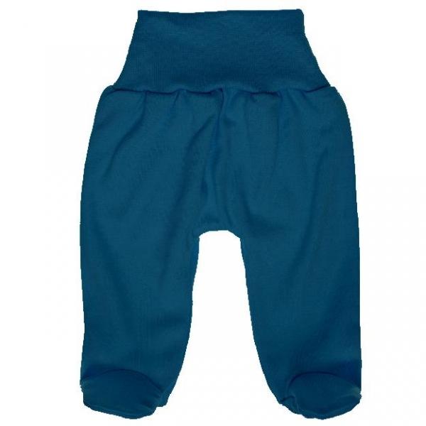 MBaby Bavlněné polodupačky - jeans, vel. 68