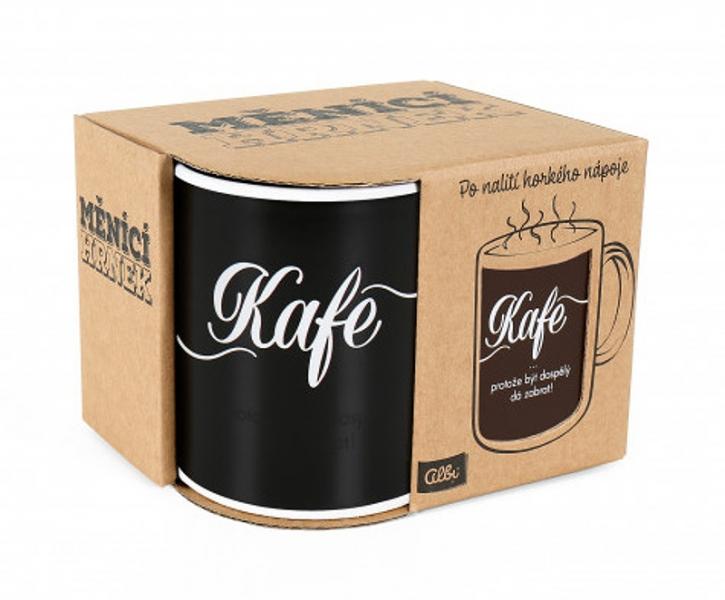 Albi Měnící hrnek - Kafe, 310 ml