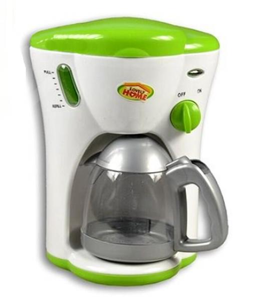 Dětský kávovar na baterie - zelený