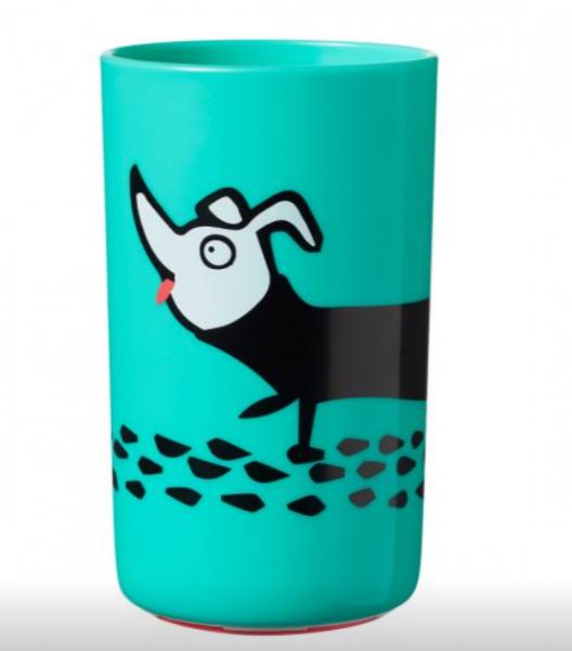Tommee Tippee Stabilní hrnek Super Cup 300 ml 12m+ Pejsek, zelený