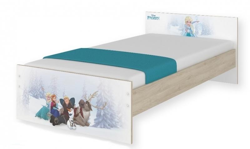 BabyBoo Dětská junior postel Disney 180x90cm - Frozen + šuplík