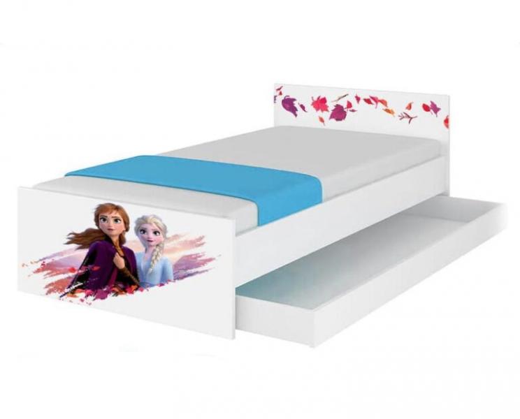BabyBoo Dětská junior postel Disney 180x90cm - Frozen II