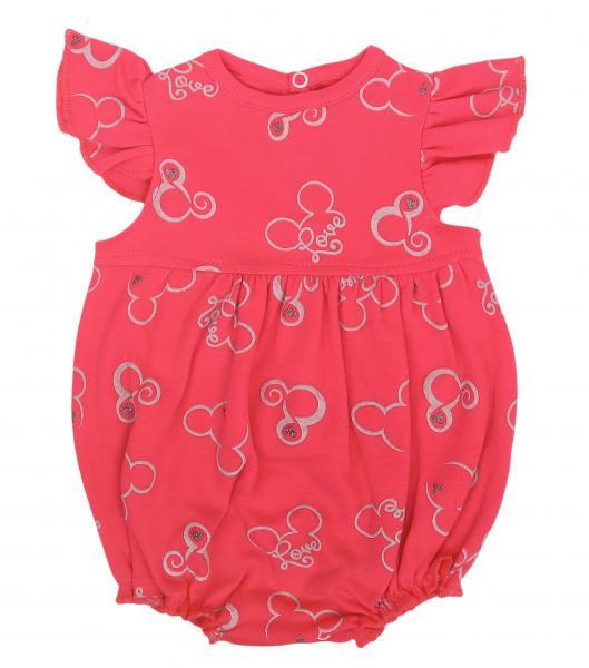 Mamatti Body s nohavičkami Myška, tm. růžová, vel. 80