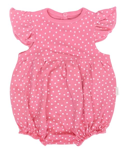 Mamatti Body s nohavičkami Princezna Puntík, růžové, vel. 86