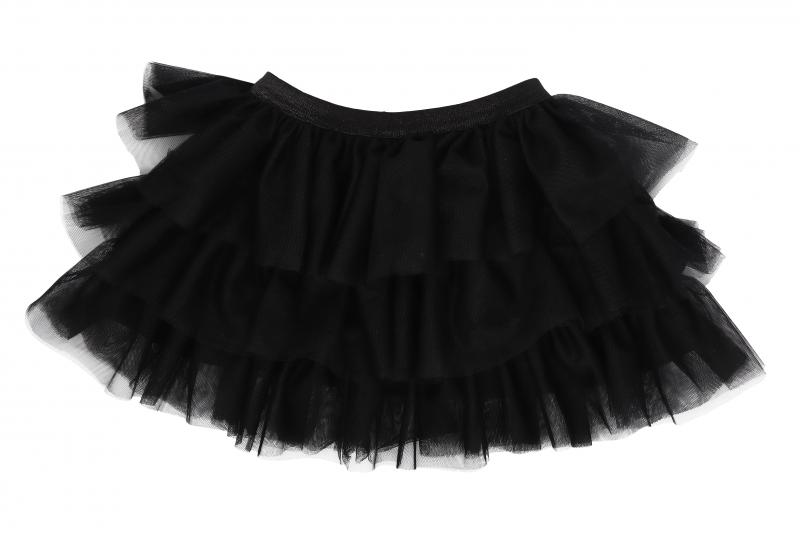 Mamatti Kojenecká tylová sukně, Myška - černá, vel. 104/110