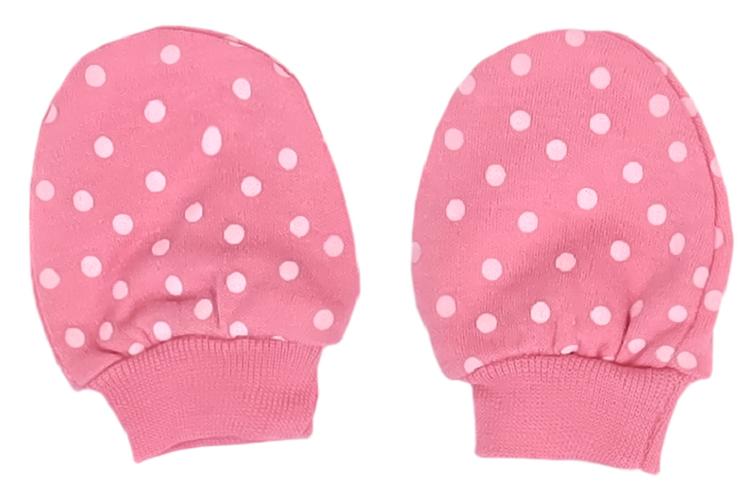 Mamatti Kojenecké rukavičky Princezna Puntík - růžové