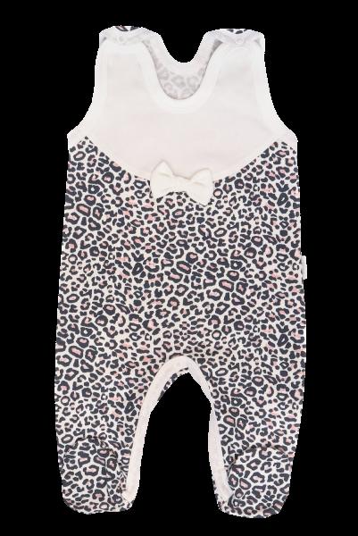 Mamatti Kojenecké dupačky Gepardík, bílé se vzorem, vel. 68