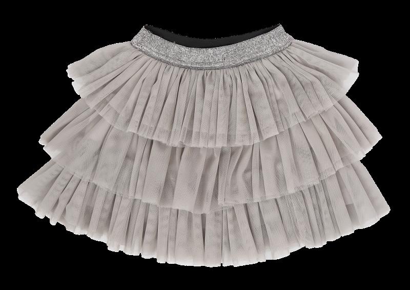 Mamatti Kojenecká tylová sukně, Gepardík, šedá, vel. 104/110