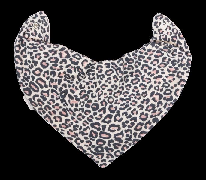 Mamatti Dětský šátek na krk Gepardík, bílá se vzorem, Velikost: univerzální