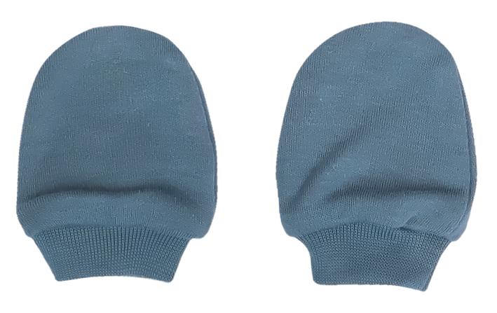 Mamatti Kojenecké rukavičky Dinosaurus, modré