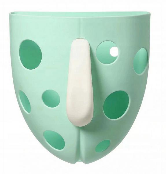 BabyOno Box,nádobka na hračky do vody - mátový