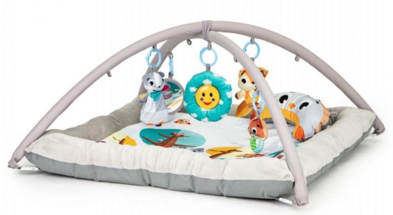 ECO TOYS Vzdělávací hrací deka a hrazdou, Lesní zvířátka
