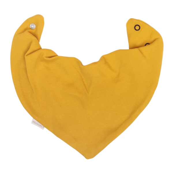 Mamatti Dětský šátek na krk Mýval - hořčicová