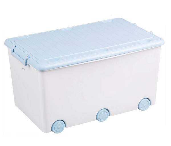 Tega Baby Pojízdný box na hračky - bílý