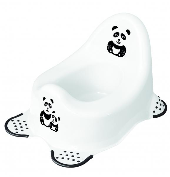 Keeeper Nočník Panda - bílá