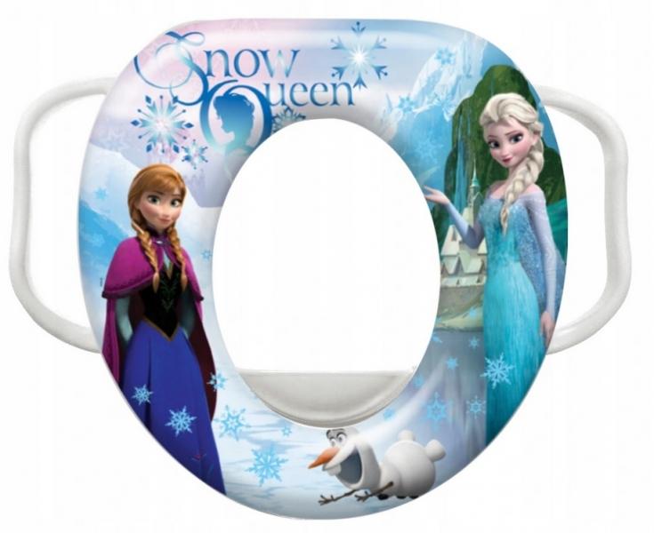 Keeeper Adaptér - Mini treningové sedátko na toaletu Frozen  - bílé