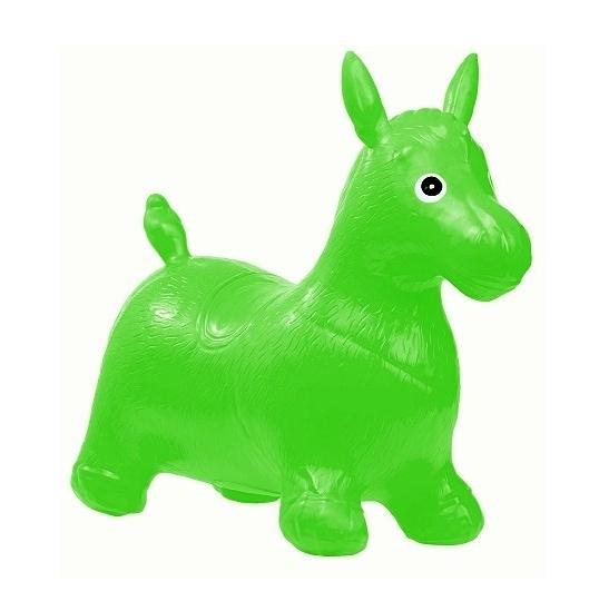 Tulimi Skákací gumové zvířátko - Koník, zelený