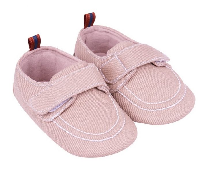 YO ! Kojenecké boty/capáčky, béžové, 6 -12 m