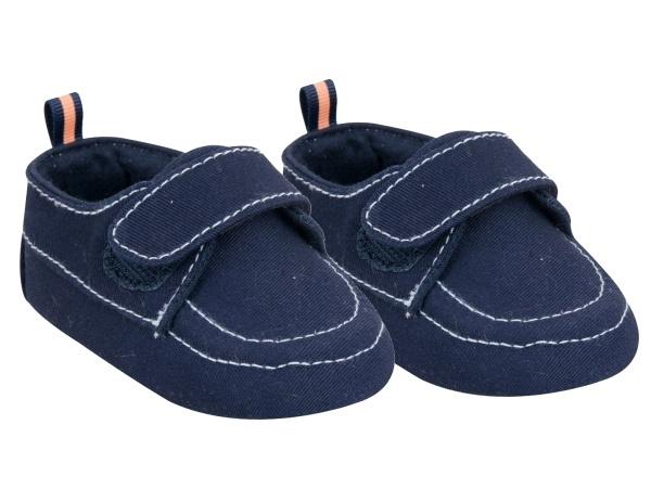 YO ! Kojenecké boty/capáčky, granátové