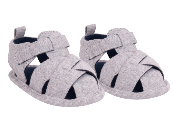 YO ! Chlapecké capáčky, sandálky, šedé