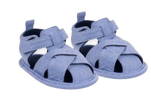 YO ! Chlapecké capáčky, sandálky, modré, 6 - 12 m