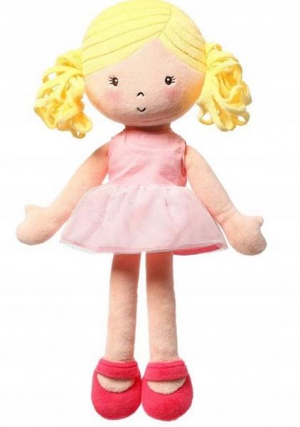 Hadrová panenka BabyOno Alice Doll, růžová