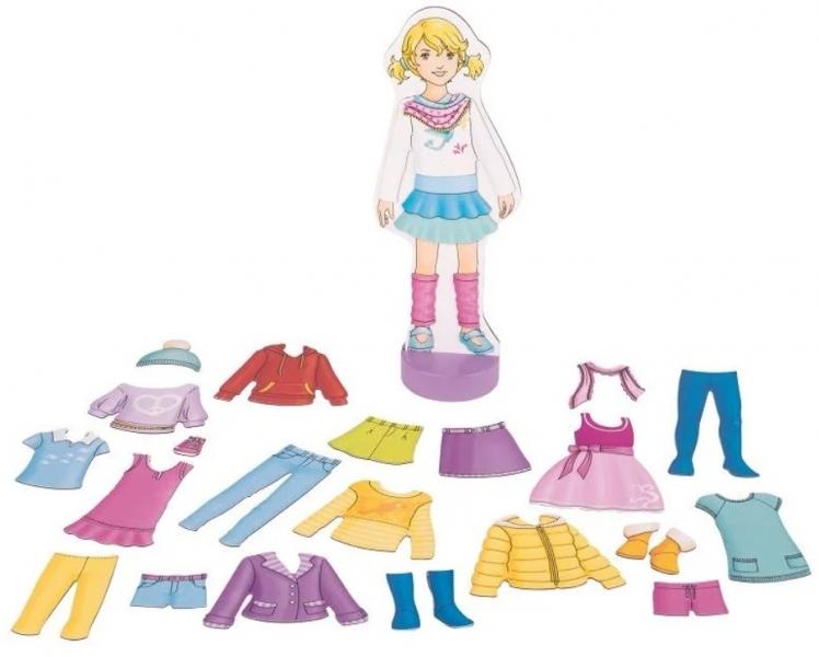 Goki Retro magnetická oblékací Panenka Anna