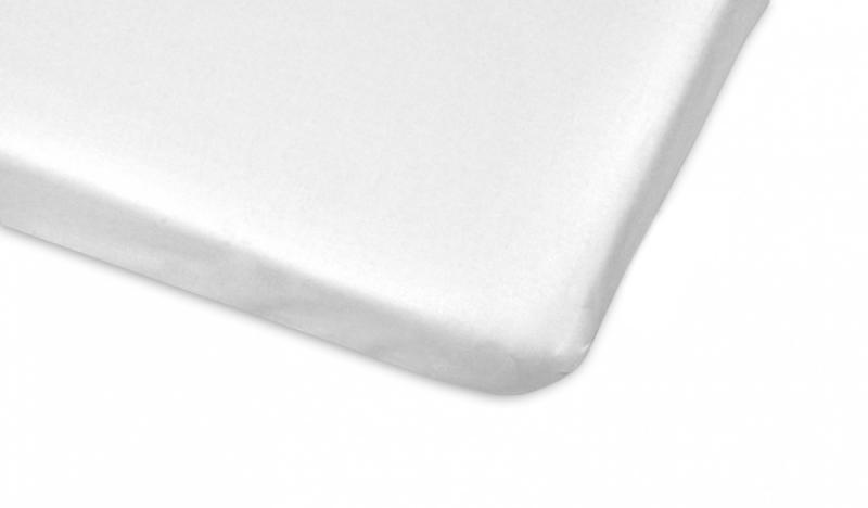 Mamo Tato Bavlněné prostěradlo 70x140cm - bílá
