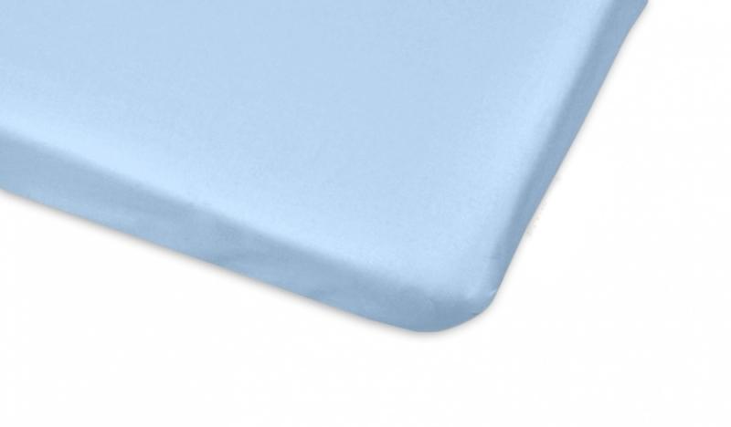 Mamo Tato Bavlněné prostěradlo 70x140cm - sv. modrá
