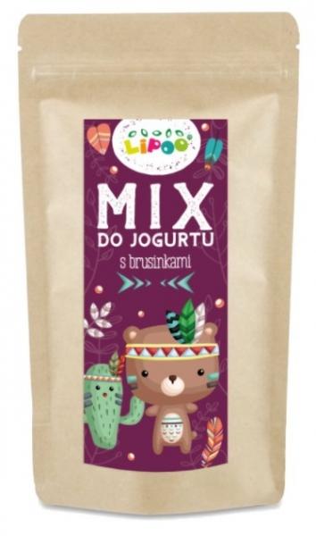 Mix do jogurtu s brusinkami, 120g