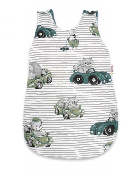 Spací vak Baby Nellys, Baby Car, 70 cm - zelená