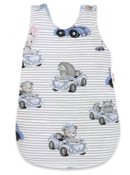 Spací vak Baby Nellys, Baby Car, 70 cm - modrá