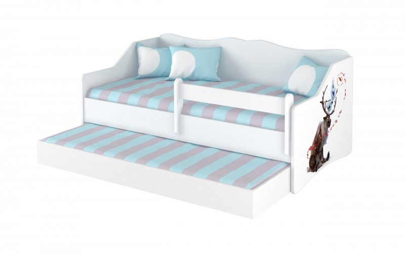 BabyBoo Dětská postel LULU 160 x 80 cm - Frozen
