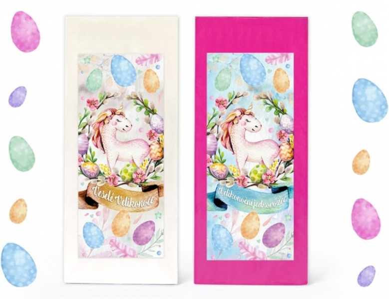 Velikonoční Jednorožci - akční balíček,  2 x 70g