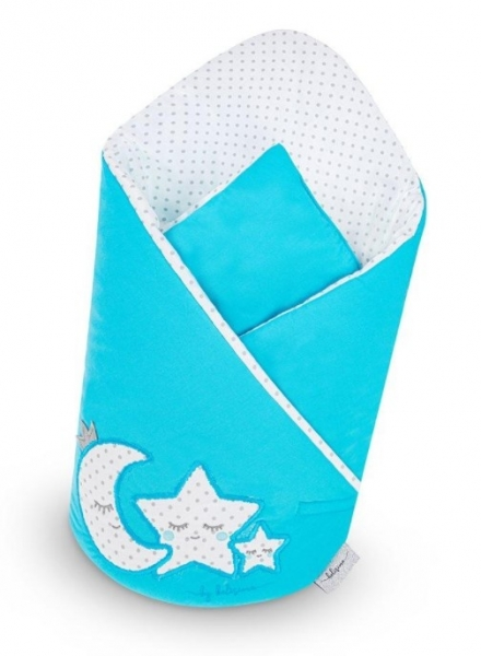 Belisima Zavinovačka s kokosovou vložkou - Magická Hvězdička - modrá