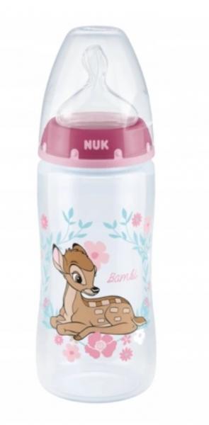 NUK Lahvička First Choice Bambi - růžová